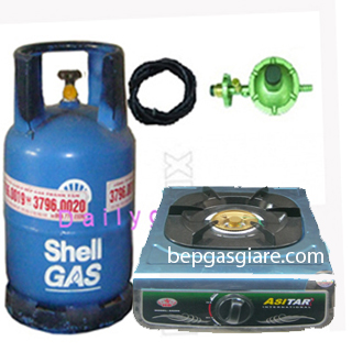 bộ bếp gas đơn ASITAR