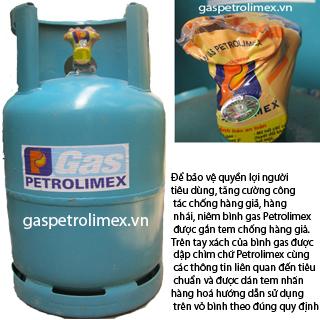 Gas petrolimex van ngang