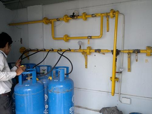 Lưu ý khi lắp đặt và bảo trì hệ thống gas